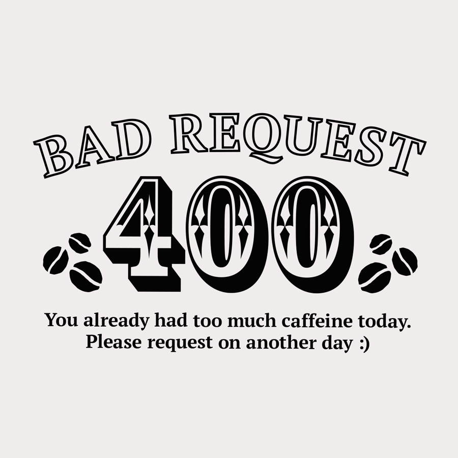 Bad Request プリント