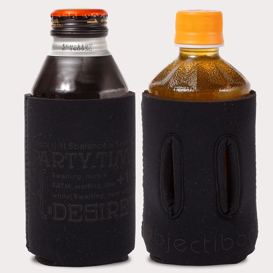 通せるクージー350 CASH ブラック ペットボトル装着例