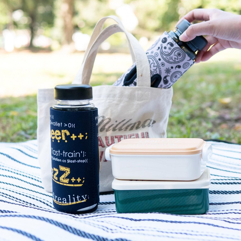 公園ピクニックにも通せるクージー
