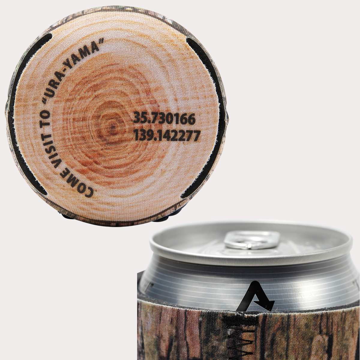 通せるクージー350 木目のディテール